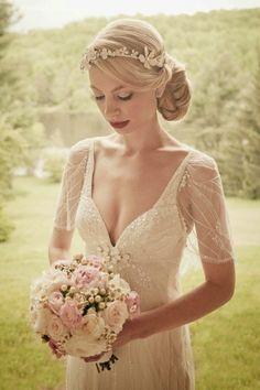 Vintage Wedding Hairstyles Opskrifterco