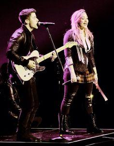 Demi Lovato & Nick Jonas Neon Lights Tour 2014