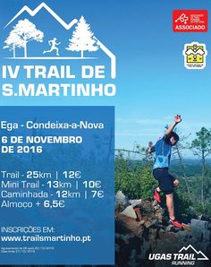 Trail de S. Martinho 2016: Em Ega, no próximo dia 6 de Novembro