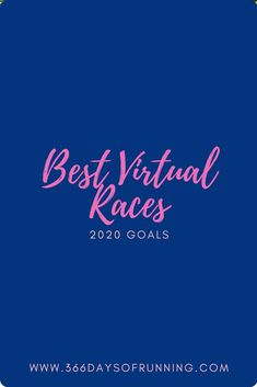 Best virtual races in 2020 | New 2020 running goals | 10 reasons why you'll love a virtual race and the races you should be signing up for.  #running #virtualrace #runninggoals Running Routine, Running Plan, Running Tips, Women's Fitness, Group Fitness, Health And Fitness Tips, Running Training Programs, Race Training, Trail Races