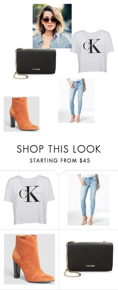 """Calvin klein"" by ziyah-mesy on Polyvore featuring Calvin Klein and Calvin Klein Jeans"