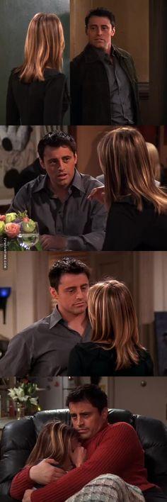 Joey is in love
