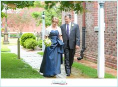 Beautiful wedding at Kimberly Crest for older couple. http://www ...