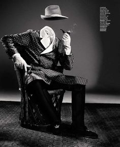 Aleksandra Woroniecka styles 'Figure du Style' for M le Monde, Fall 2012