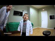 Médicos- El paciente tine un pollito en el estómago - Chévere