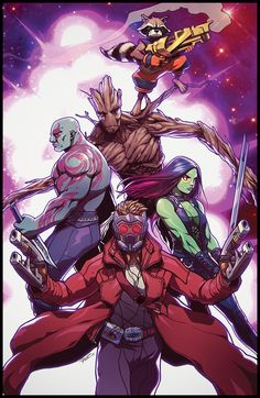 Guardians of the Galaxy | Hooked On A Feeling by Robert Porter aka Robaato