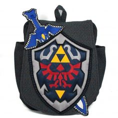 Want, Want, want want - zelda handcrafted bag by GeekyU