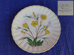 AS- IS AnnaLee LUNCHEON PLATE Blue Ridge Southern Pottery -have 100's of B Ridge #BlueRidgeSouthernPottery
