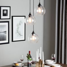 Create A Metro Modern Look In Your Home With The Addition Of This Uptown Cluster Pendant Three Unique Lights Are Artfully Suspended At Various Heights