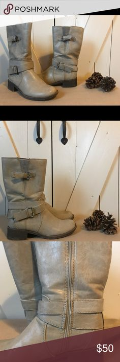 Natural souls by naturalizer boots Like new, only worn once. NaturalSoul by naturalizer boots. Very comfortable & great condition!  💰Make offer! Naturalizer Shoes Winter & Rain Boots