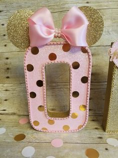 Pink and gold Minnie Mouse partyPink and by HeidiPartyCreations