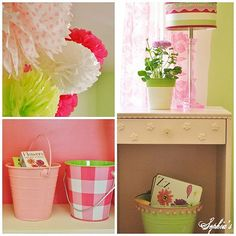 DIY::Bright and Cheery  Bedroom...On a Budget (Decor  Storage)