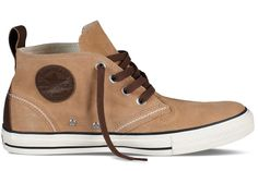 Converse CT Berkshire Mid Tan Suede Ankle Trainers