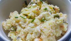 Jak připravit zdravý a lehký bramborový salát | recept Potato Salad, Potatoes, Ethnic Recipes, Food, Meal, Potato, Essen, Hoods, Meals