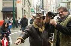 Terry Gilliam sul set del film