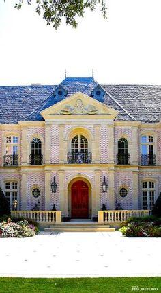 Rosamaria G Frangini | Architecture Luxury Houses | French Chateau style exterior