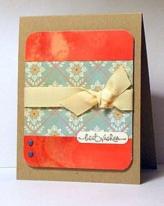 Simple card design