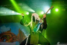 Aerendir - Twilight Force ⚫ Photo by Markus Felix, PushingPixels.de ⚫ Rockharz 2016 ⚫ #TwilightForce #music #metal #concert #gig #musician #Aerendir #guitar #guitarist #elf #performing #playing #mask #wow #warcraft #anime #tabard #bracers #blond #longhair #festival #photo #fantasy #magic #cosplay #larp #man #onstage #live #celebrity #band #artist #performing #Sweden #Swedish #Rockharz