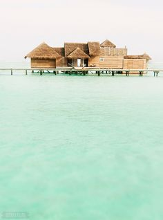 The Maldives. The most perfect place to disappear for the Summer.