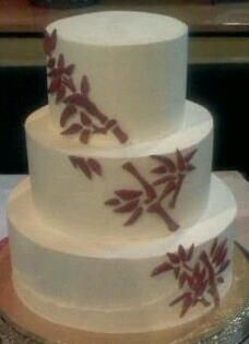 Bamboo Wedding Cake by Cake Hag Atlanta, GA Luau Cakes, Cupcake Cakes, Cupcakes, Beautiful Cakes, Red Wine, Wedding Cakes, Atlanta, Special Occasion, Bamboo