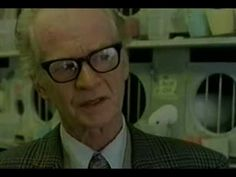 ▶ B.F. Skinner - Operant Conditioning and Free Will - YouTube