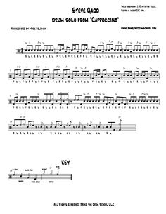 drum solo transcriptions에 대한 이미지 검색결과 Drum Sheet Music, Drums Sheet, Drum Solo, Transcription, Math, Google Search, Music, Math Resources, Mathematics