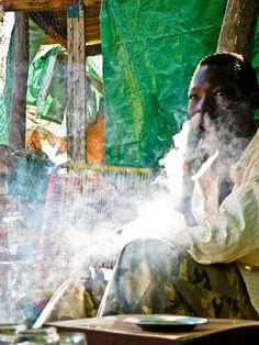 Smoking. Sudan