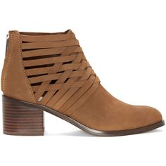 1. State Iliza Woven Block Heel Bootie ($139) ❤ liked on Polyvore featuring shoes, boots, ankle booties, mouse, block heel ankle boots, woven boots, block heel booties, braided booties and nubuck leather boots