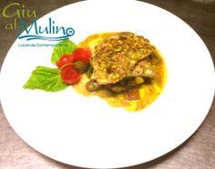 Filetto di Orata in crosta di pistacchi su dadolata di verdure #buonappetito con la nostra #cucinacontemporanea