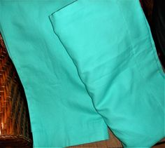 Pottery Barn Teen Set of 2 Classic Sailcloth Blackout Drape 44 x 84 Pool Blue #PotteryBarnTeen