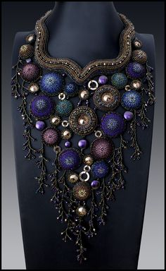 Bead&Button magazine features step-by-step instructions for creative beaded jewelry and art, as well as tips and techniques to enhance your beading experience. Jewelry Crafts, Jewelry Art, Beaded Jewelry, Handmade Jewelry, Fashion Jewelry, Geek Jewelry, Gothic Jewelry, Jewelry Necklaces, Bead Embroidery Jewelry