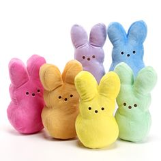 Spread the joy of Peeps when you give this plush Peeps bunny as a gift to those of any age. Any Bunny would love to get one. 100% Polyester Fiber.