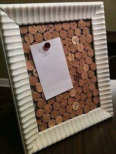 Adventures In Creating: Wine Cork Board