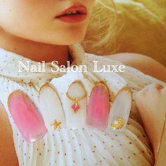 Tint colors like cheeks<3 最近話題のおフェロネイルです♪ チークのようなほのかなピンクで血色よく♡ #nail #nails #naildesign #nailtrend #nailart #nailswag #nailartclub #nailstagram #gelnail #fashion #trend #beautiful #japanese #instagood #summernails #cheekcolor #tintcolors #necklace #ネイル #ネイルデザイン #ジェルネイル #ジェルアート#夏ネイル #大袋ネイルサロン #越谷ネイルサロン #おフェロネイル #チークネイル #ネックレスネイル #秋ネイル #デザインジェル10000円