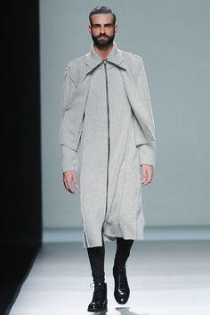 Etxeberría FW13-14 #MBFWM #Menswear #RocketMagazine #MarcPiña #Model