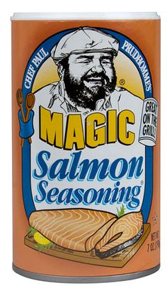 Chef Paul Prudhomme's Magic Seasoning Blends Salmon