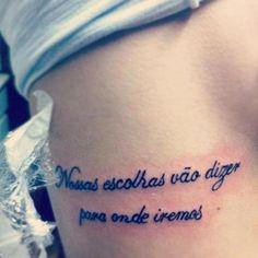 tattoo fofas frases - Pesquisa Google