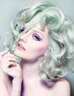 mint hair | CostMad do not sell this item/idea but have lots of great ideas and products for sale please click below