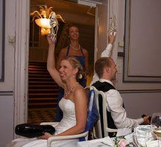 Wedding reception games . . .