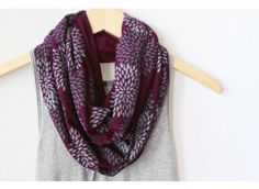 Double Flowers Scarf BY LITTLE MINNOW DESIGNS