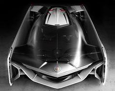 If Darth Vader had a car, it would be this killer Cadillac concept