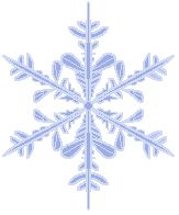 FREE Christmas Snowflake Clipart and other items