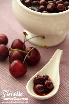 Ricetta ciliegie sotto spirito