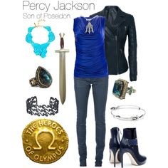 Percy Jackson outfit for teens. Yes. But flats and we cant carry swords but we can carry pens...