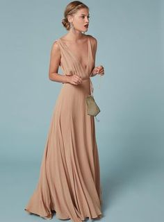 See the Latest Celebrity Bridesmaid to Look Stunning in Reformation via…