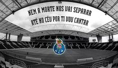 Nem a morte nos vai separar, Até no céu por ti eu vou cantar! Tripeiro eu sou!! Porto!!! SD1986 Fc Porto, Porto City, Portuguese Quotes, Best Club, Photo Story, Lit Wallpaper, Soccer, 1, Football