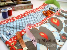 Sewing Together at Hawthorne Threads - Aprons!