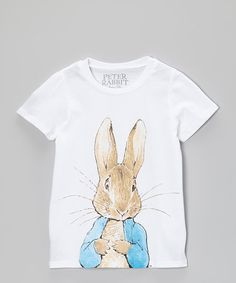 Take a look at this White Peter Rabbit Tee - Toddler & Girls by Peter Rabbit on #zulily today!