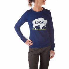 Women's Local Long Sleeve T-Shirt #MountainKhakis #local #longsleevetshirt