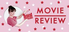 Movie review banner.